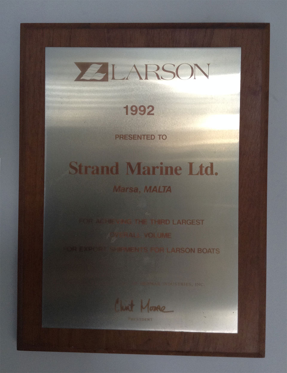 Strand Marine Awards
