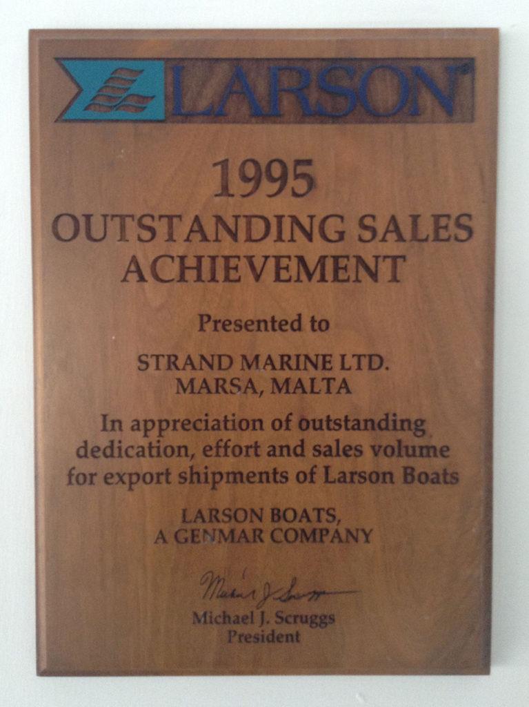 Strand Marine Awards